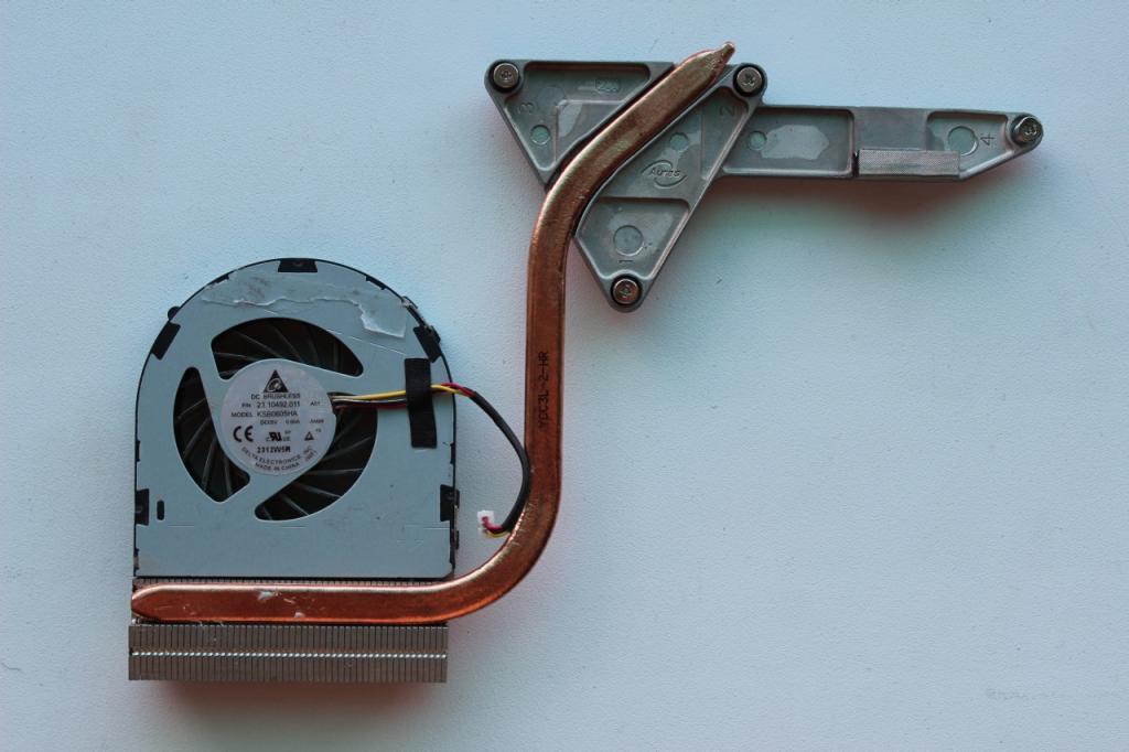Полная Система охлаждения DELL Inspiron N5050