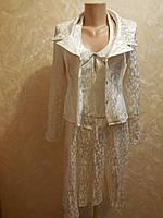 Нарядный костюм  - платье и пиджак.