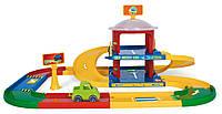 "Игровой набор Гараж ""Kid Cars 3D"" 2 этажа Вадер, 53020, Wader"