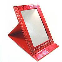 Зеркало косметическое настольное раскладное (дорожное) T5207-red