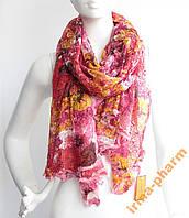 Стильный зимний шарфик V2327 Розовый