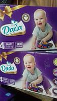 Подгузники Dada Premium Новинка Дада размер 4 100шт.