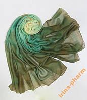 Женский шарф-парео 2в1 (256 Зеленый)