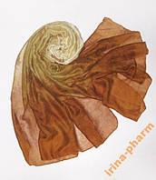 Женский шарф-парео 2в1 (256 Коричневый)