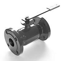 Кран шаровый стальной полнопроходной фланцевый 11с38п1 Ду25 Ру40 пар