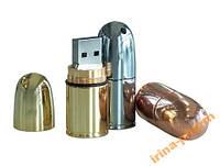 ЮВЕЛИРНАЯ ФЛЕШКА- 4Гб, цв: золото, серебро, бронза