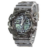 Часы Casio G-Shock GA-100 militari Класс-AAA