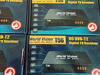 Цифровой эфирный ресивер DVB-T2  World Vision T56