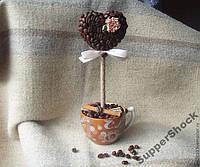 КОФЕЙНОЕ ДЕРЕВО из зёрен кофе - подарок близким!