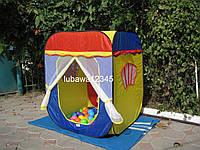 Детская палатка КАРЕТА реальное фото