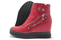 Сникерсы женские Yuzhuye А-111 красные