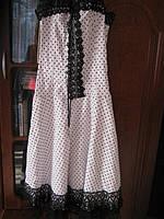 Нарядне плаття з корсетом