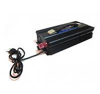 Преобразователь напряжения автомобильный инвертор 12V-220 Вольт 3000 Вт + Зарядка