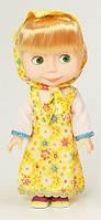Музыкальная кукла Маша 6010-2 (в желтом платье)