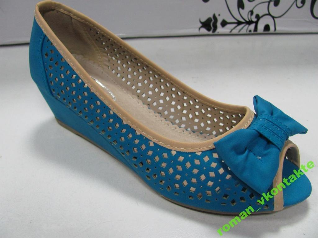Туфли женские летние  БАБОЧКА  38,41 р  H54