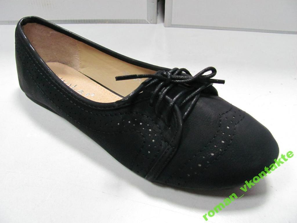 Туфли женские балетки JIOLAI  38. раз  М001