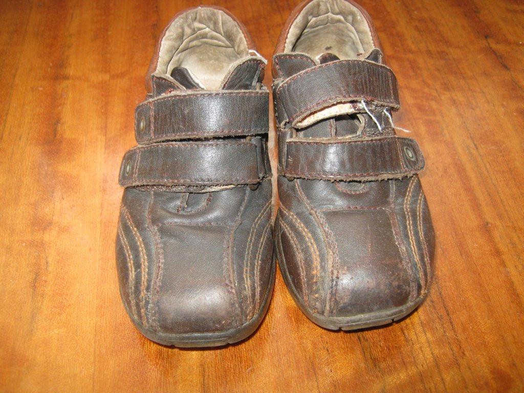 Шкіряні кросівки -туфлі 26 розміру.