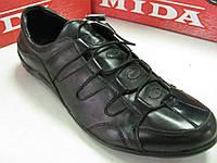 Кроссовки мужские  МИДА 43р натуральная кожа 591