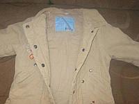 Практична куртка для дівчинки