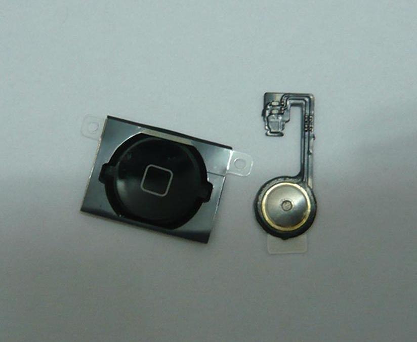 Кнопка домой (home)+ шлейф  для iphone 4S