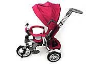 Ровер трехколесный с козырьком для малышей, надувные колеса