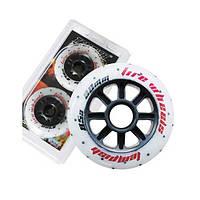 Колеса светящиеся для роликовых коньков Tempish FIRE 76 x 24 мм 85А, 2 шт (AS)
