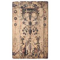Панно деревянное винтажное А