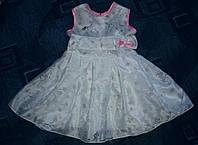 Платье шифоновое на девочку 3-5 лет