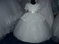 Пышное платье для девочки 5-7 лет
