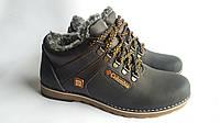 Мужские зимние кожаные ботинки Columbia low winter
