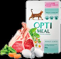Консерва для котов Optimeal с ягненком