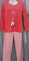 Женская пижама плотный трикотаж №1603