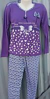 Женская пижама плотный трикотаж №1602