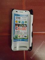 Чехол пластик(сетка) для Nokia C6-00