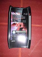 Чехол пластик(сетка) для Nokia X7