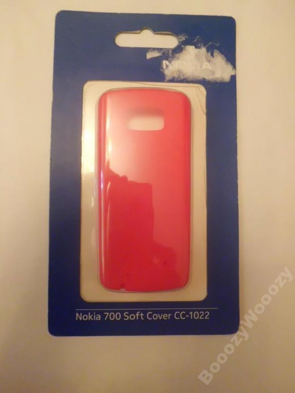 Чехол Nokia 700 Soft Cover CC-1022