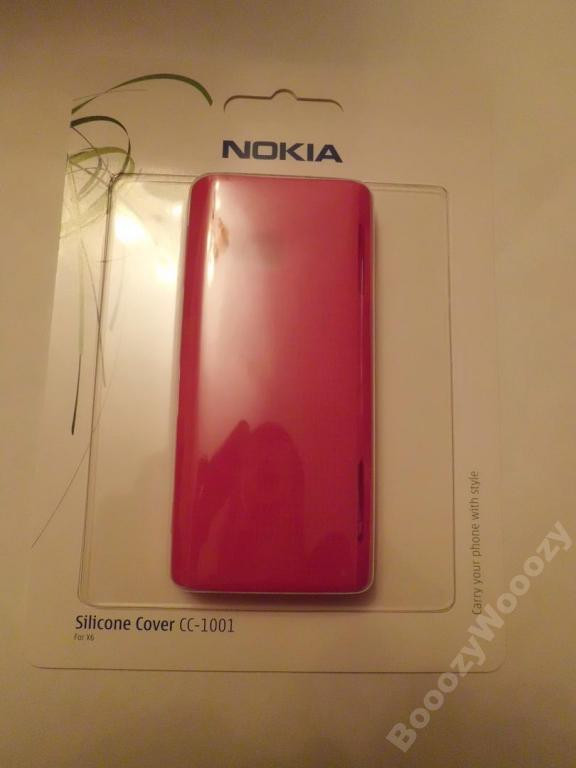 Чехол CC-1001 Cover Fuchsia for X6