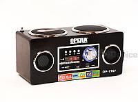 Портативная колонка Opera OP-7707 USB FM SD