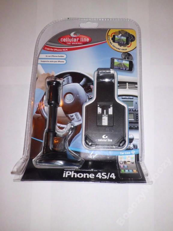 Автодержатель Cellular Line for iPhone 4/4S