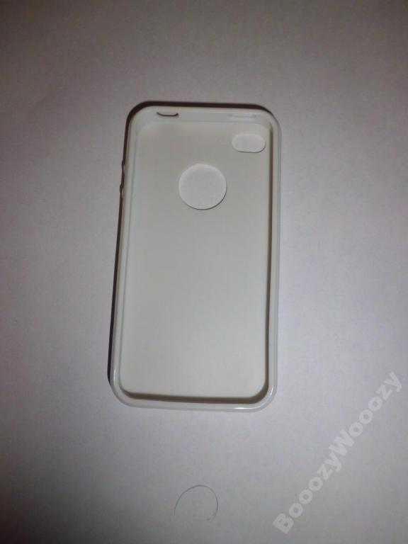 Силиконовый бампер для apple iphone 4
