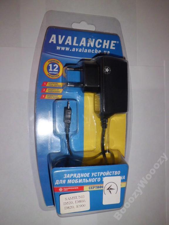 Зарядное устройство Аваланч для Samsung D520,D800