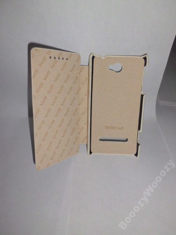 Чехол-книжка Vetti Craft HTC Rio 8S