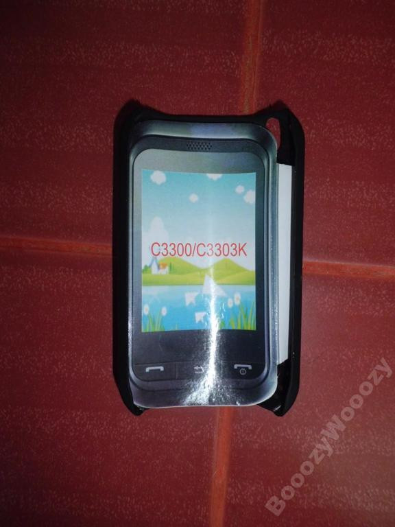 Чехол пластик(сетка) для Samsung C3300/C3303