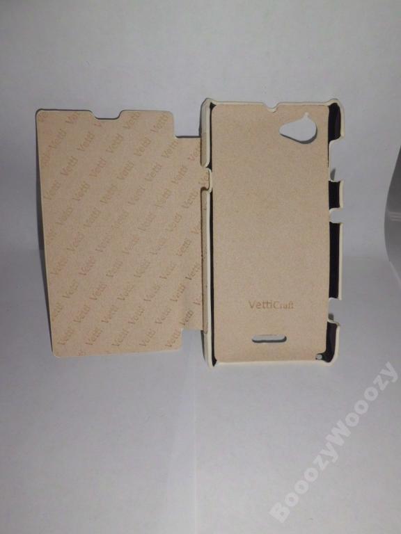 Чехол-книжка Vetti Craft Xperia L/S36h/C2104