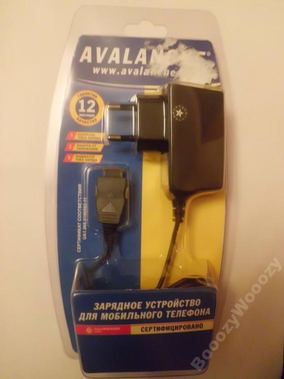 Зарядное устройство Аваланч для Samsung