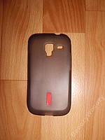 Силиконовый чехол на Samsung I8160