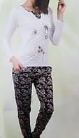 Женская трикотажная пижама №86688