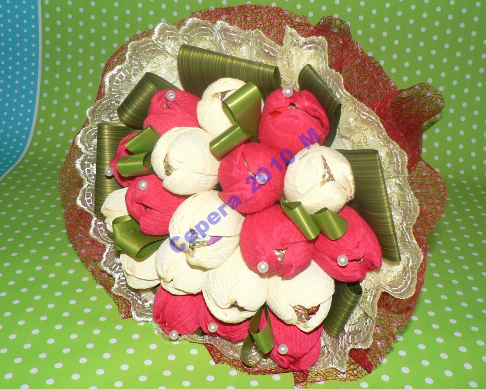 Букет из конфет baritone торговой марки АВК(19 шт)