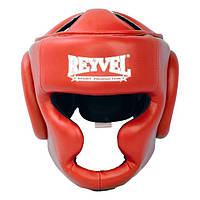 Шлем тренировочный Reyvel винил красный L