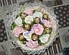 Букет из конфет Raffaello и Ferrero Rocher (17 шт)
